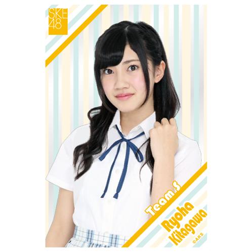SKE48 2015年9月度個別グッズ「クリアポストカード」 北川綾巴