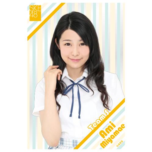 SKE48 2015年9月度個別グッズ「クリアポストカード」 宮前杏実