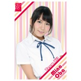 SKE48 2015年9月度個別グッズ「クリアポストカード」 大場美奈