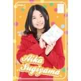 SKE48 2016年2月度個別グッズ「ポストカード(バレンタイン)」 杉山愛佳