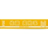 SKE48 2014年6月度 生誕記念マフラータオル 3種 佐藤実絵子