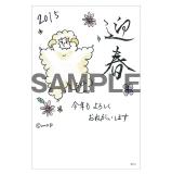 SKE48 2014年12月度個別グッズ「年賀状3枚セット」 佐藤実絵子