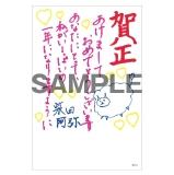 SKE48 2014年12月度個別グッズ「年賀状3枚セット」 柴田阿弥