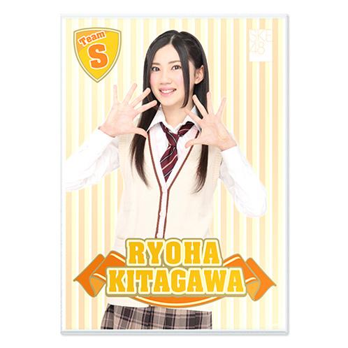SKE48 2015年10月度個別グッズ「A3クリアポスター」 北川綾巴