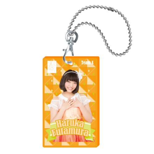 SKE48 2015年10月度個別グッズ「クリアパスケース」 二村春香