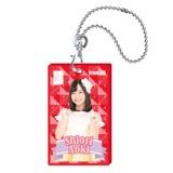 SKE48 2015年10月度個別グッズ「クリアパスケース」 青木詩織