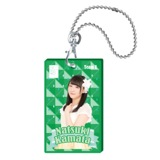 SKE48 2015年10月度個別グッズ「クリアパスケース」 鎌田菜月