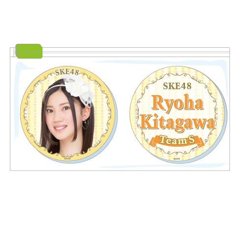 SKE48 2015年11月度個別グッズ「クリアマグネット2個セット」 北川綾巴