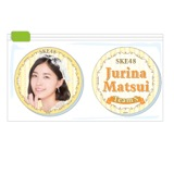 SKE48 2015年11月度個別グッズ「クリアマグネット2個セット」 松井珠理奈