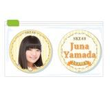 SKE48 2015年11月度個別グッズ「クリアマグネット2個セット」 山田樹奈