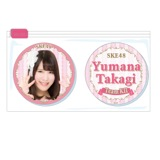 SKE48 2015年11月度個別グッズ「クリアマグネット2個セット」 高木由麻奈