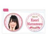 SKE48 2015年11月度個別グッズ「クリアマグネット2個セット」 松村香織