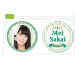 SKE48 2015年11月度個別グッズ「クリアマグネット2個セット」 酒井萌衣