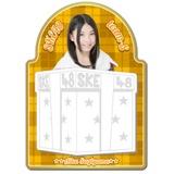 SKE48 2015年12月度個別グッズ「マグネットメモ」 杉山愛佳