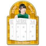 SKE48 2015年12月度個別グッズ「マグネットメモ」 野口由芽