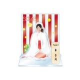 SKE48 2016年1月度個別グッズ「アクリルスタンド 巫女ver.」 東李苑