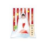 SKE48 2016年1月度個別グッズ「アクリルスタンド 巫女ver.」 野口由芽