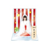 SKE48 2016年1月度個別グッズ「アクリルスタンド 巫女ver.」 松本慈子