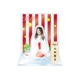 SKE48 2016年1月度個別グッズ「アクリルスタンド 巫女ver.」 山田樹奈