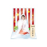SKE48 2016年1月度個別グッズ「アクリルスタンド 巫女ver.」 石田安奈