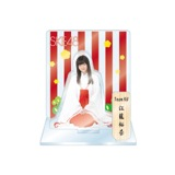 SKE48 2016年1月度個別グッズ「アクリルスタンド 巫女ver.」 江籠裕奈