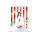 SKE48 2016年1月度個別グッズ「アクリルスタンド 巫女ver.」 佐藤すみれ