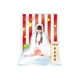 SKE48 2016年1月度個別グッズ「アクリルスタンド 巫女ver.」 末永桜花
