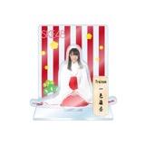 SKE48 2016年1月度個別グッズ「アクリルスタンド 巫女ver.」 一色嶺奈