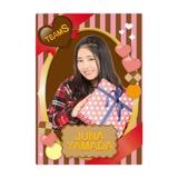 SKE48 2016年2月度個別グッズ「下敷き(バレンタイン)」 山田樹奈