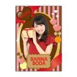 SKE48 2016年2月度個別グッズ「下敷き(バレンタイン)」 惣田紗莉渚