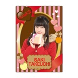SKE48 2016年2月度個別グッズ「下敷き(バレンタイン)」 竹内彩姫