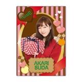 SKE48 2016年2月度個別グッズ「下敷き(バレンタイン)」 須田亜香里