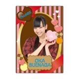 SKE48 2016年2月度個別グッズ「下敷き(バレンタイン)」 末永桜花
