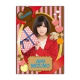 SKE48 2016年2月度個別グッズ「下敷き(バレンタイン)」 水野愛理