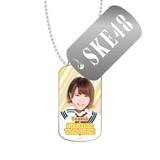 SKE48 2016年3月度個別グッズ「スライドドッグタグ」 山内鈴蘭