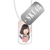 SKE48 2016年3月度個別グッズ「スライドドッグタグ」 青木詩織