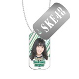 SKE48 2016年3月度個別グッズ「スライドドッグタグ」 市野成美