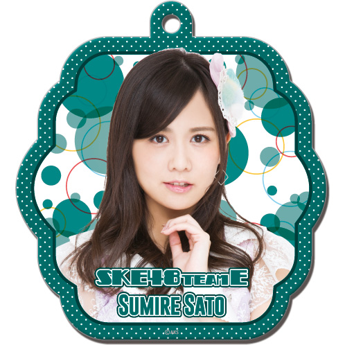 SKE48 2016年4月度個別グッズ「ソフトパスケース」 佐藤すみれ
