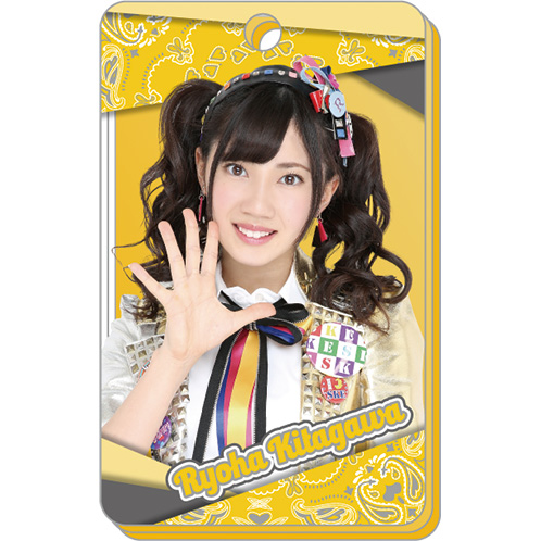SKE48 2016年7月度個別グッズ「アクリルパスケース」 北川綾巴