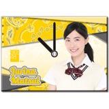 SKE48 2016年7月度個別グッズ「パネルクロック」 松井珠理奈