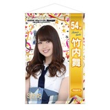 SKE48 2016年7月度個別グッズ「AKB48 45thシングル選抜総選挙『BIGタペストリー』」 竹内舞
