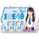 SKE48 2016年9月度個別グッズ「チェーン付きアクリルプレート」 一色嶺奈