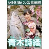 【6月中旬より順次配送】AKB48 49thシングル選抜総選挙 選挙ポスター 青木詩織