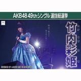 【6月中旬より順次配送】AKB48 49thシングル選抜総選挙 選挙ポスター 竹内彩姫