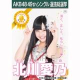 【6月中旬より順次配送】AKB48 49thシングル選抜総選挙 選挙ポスター 北川愛乃