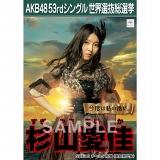 【6月下旬より順次配送】AKB48 53rdシングル 世界選抜総選挙 選挙ポスター 杉山愛佳