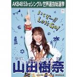 【6月下旬より順次配送】AKB48 53rdシングル 世界選抜総選挙 選挙ポスター 山田樹奈