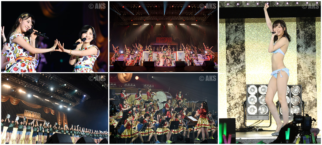 HKT48全国ツアー~全国統一終わっとらんけん~ FINAL in 横浜アリーナDVD&Blu-ray