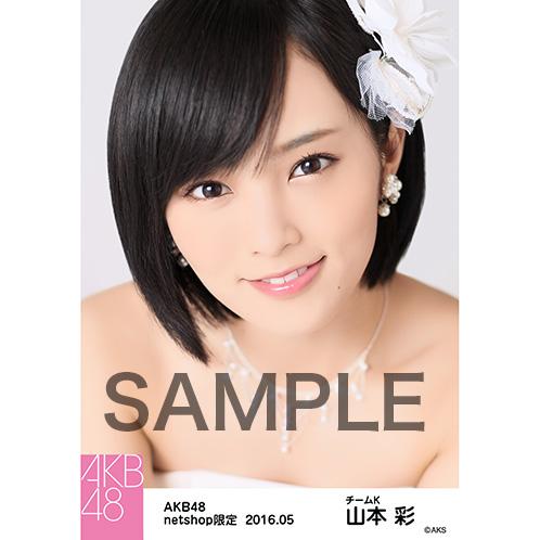 AKB48 2016年5月度 net shop限定個別生写真 「君にウェディングドレスを 衣装」5枚セット 山本彩